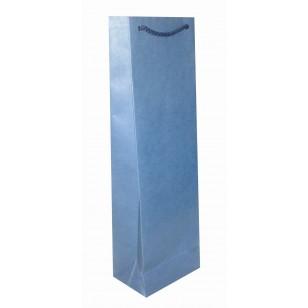 Пакет из бумаги Imitlin, бутылочный, 11х9х36 см, печать 1+0