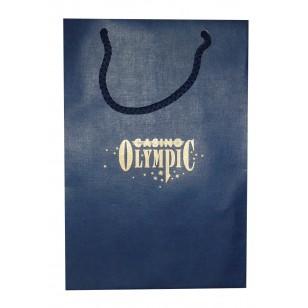 Пакет из бумаги Imitlin, А5+, 16х22х8 см, печать 1+0
